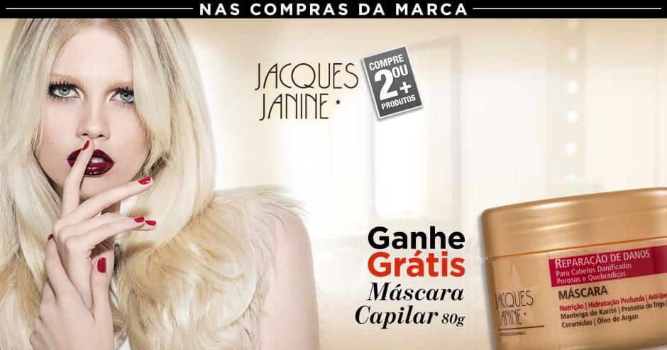 Cabelo: Jacques Janine ganhe grátis 71769 em 2 ou +