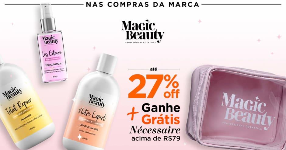 Cabelo: Magic Beauty 27%Off + ganhe grátis 70654 acima de R$79