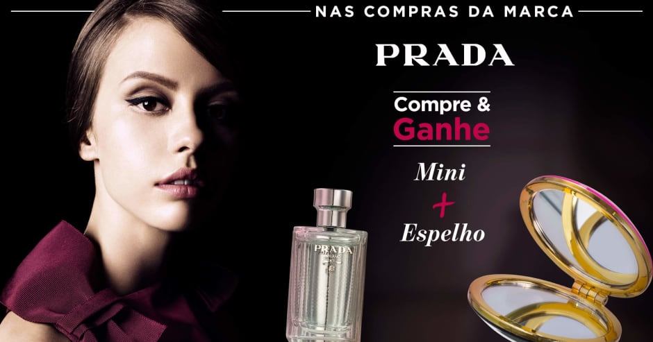 Perfume: Prada compre e ganhe 71823 + 70451 na marca