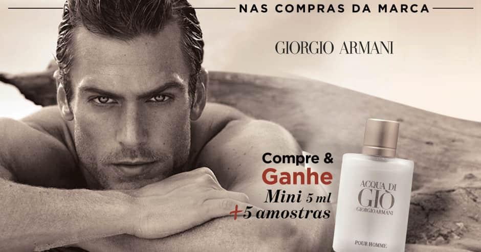 Perfume: Giorgio A compre e ganhe mini + 5 amostras