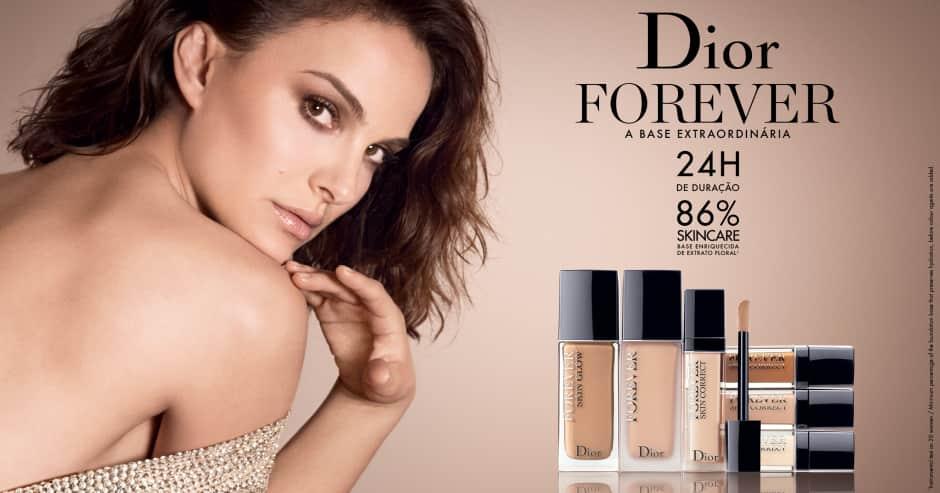 Maquiagem: Dior Forever ganhe mini base > 199