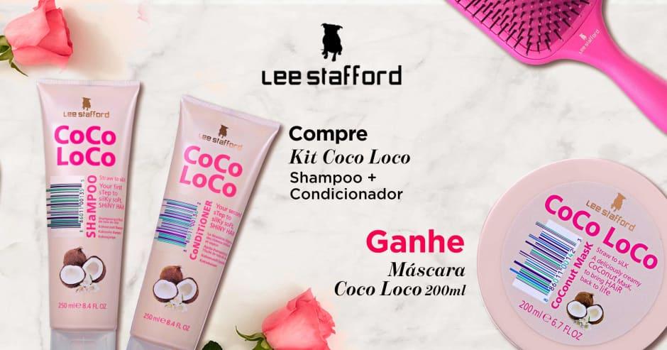 Cabelo Lee Stafford compre 38965 e ganhe 38889