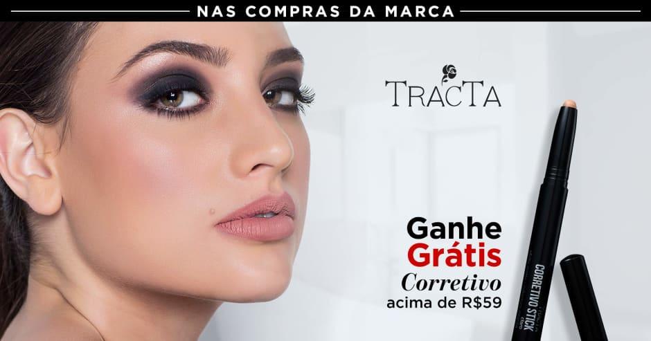 Maquiagem: Tracta ganhe grátis 63555 acima de R$59