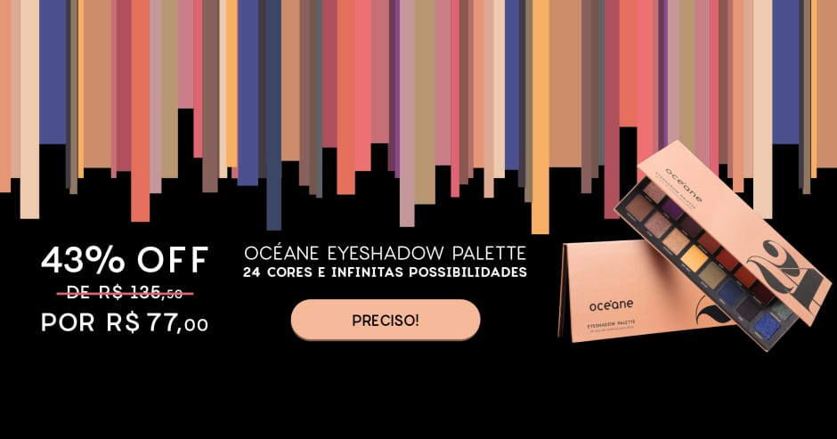 Océane 24 Eyeshadow Palette - 43% OFF