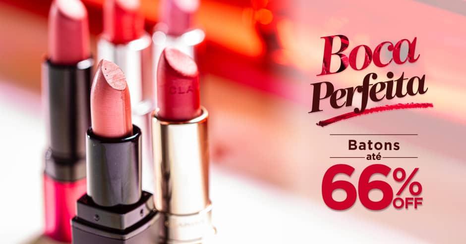 Maquiagem: Boca perfeita até 66% Off
