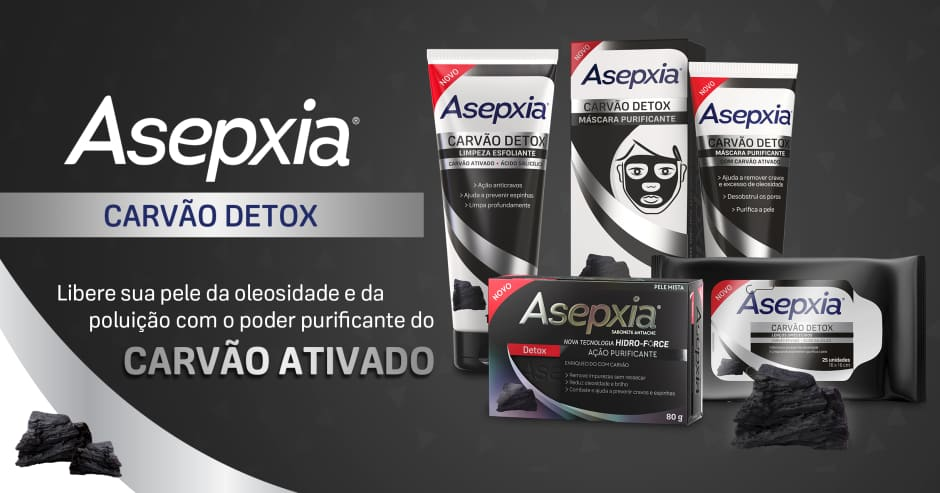 Banner Asepxia - Carvão