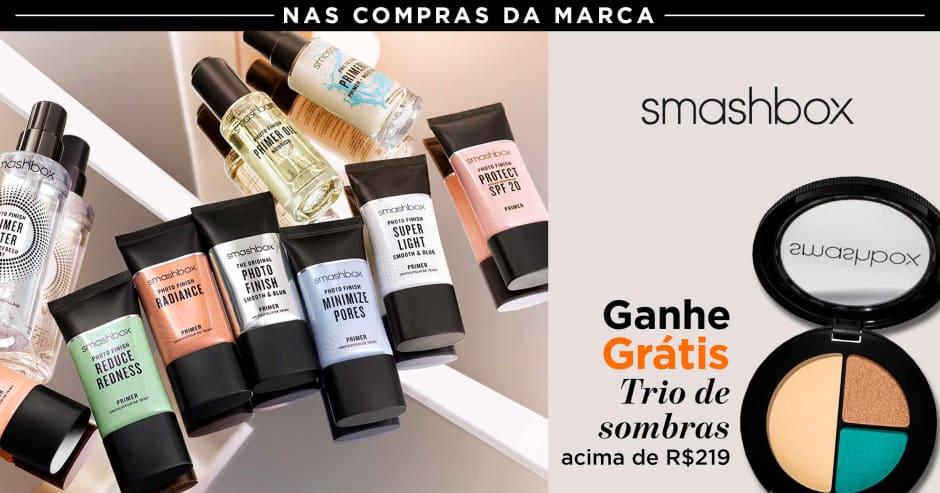 Maquiagem: Smashbox: Ganhe 51495 acima de R$ 219