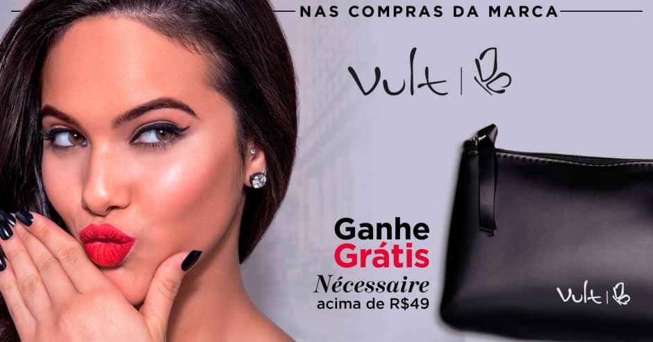 Maquiagem: Vult: Ganhe 72615 acima de R$ 49