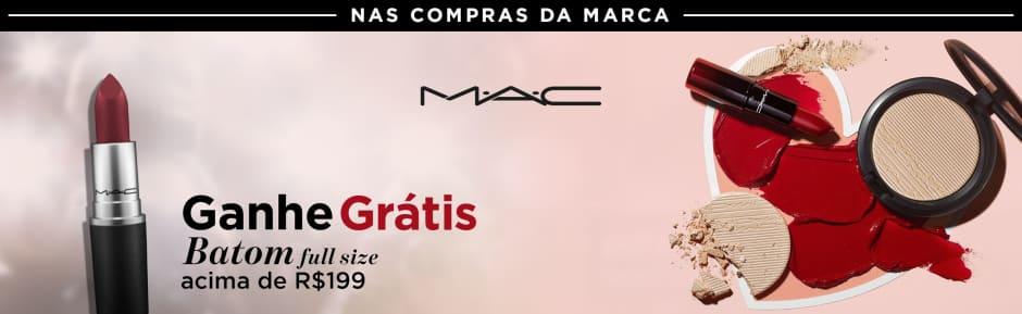 Maquiagem: MAC ganhe grátis batom 18546 > 199