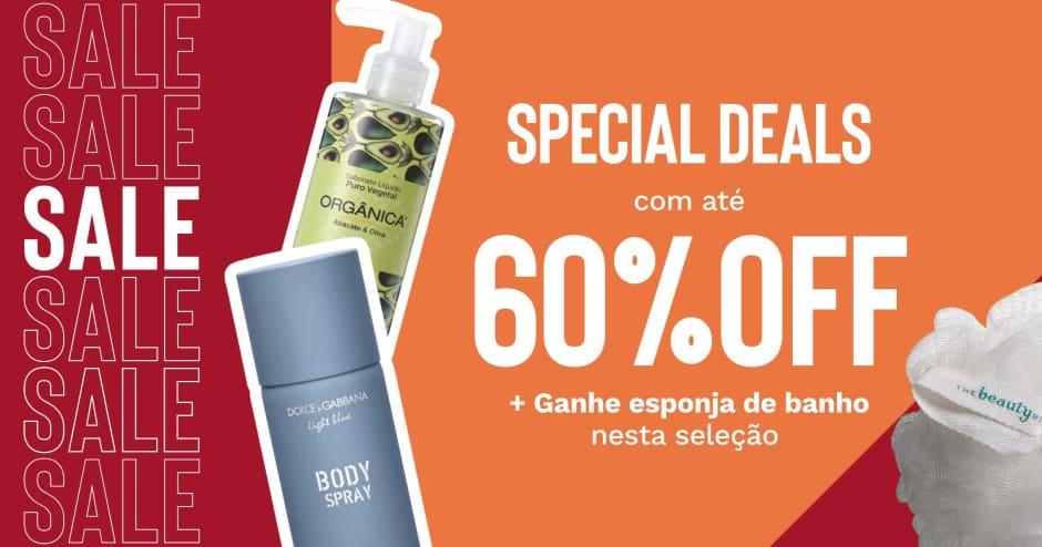 2020_06_29 corpo e banho Special Deals 60%