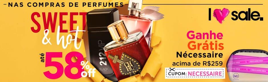 Home: Perfumes: Love Sale Sweet e Hot perfumes até 58% off + ganhe grátis 77310 >259 bannerfita