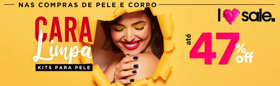 Home: Pele e Corpo: Love Sale - Kits para pele até 47% OFF bannerfita