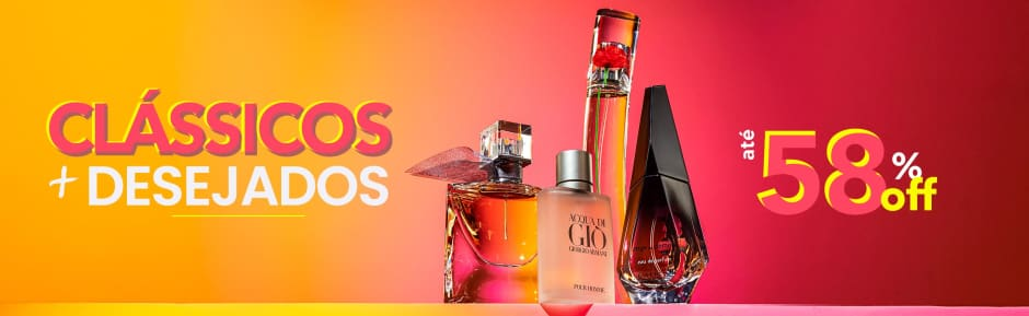 Home: Perfumes: Mega Liquida Clássicos + desejados até 70% OFF bannerfita