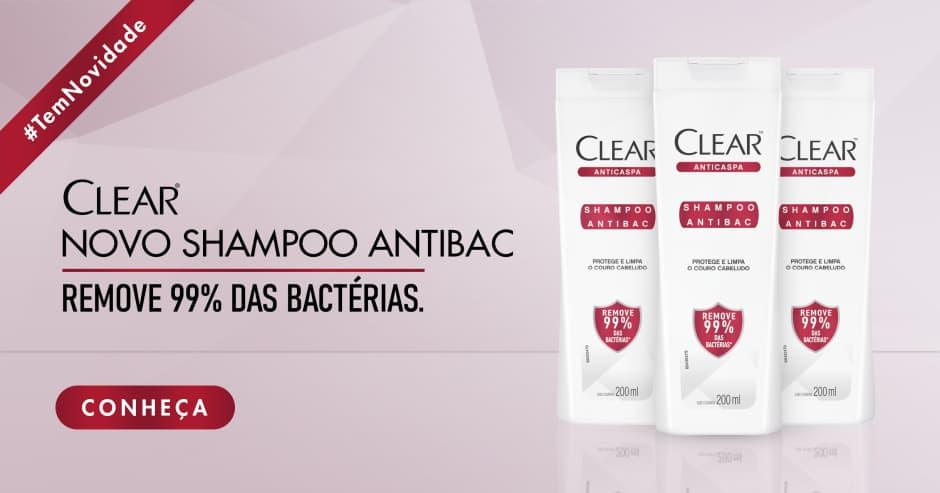 Shampoo Antibac Clear Anticaspa