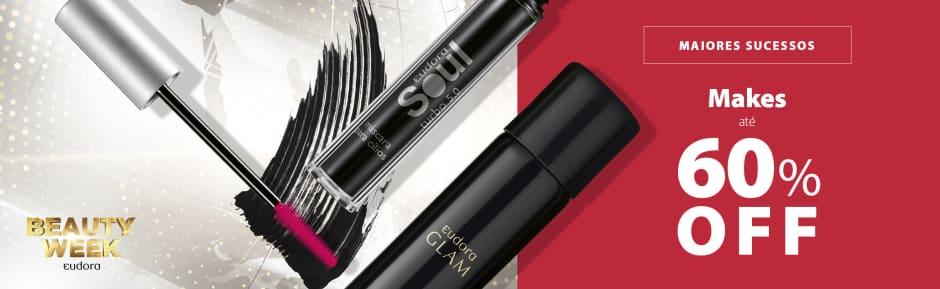 Coleção BW s04: Maquiagem até 60%OFF (23/11)