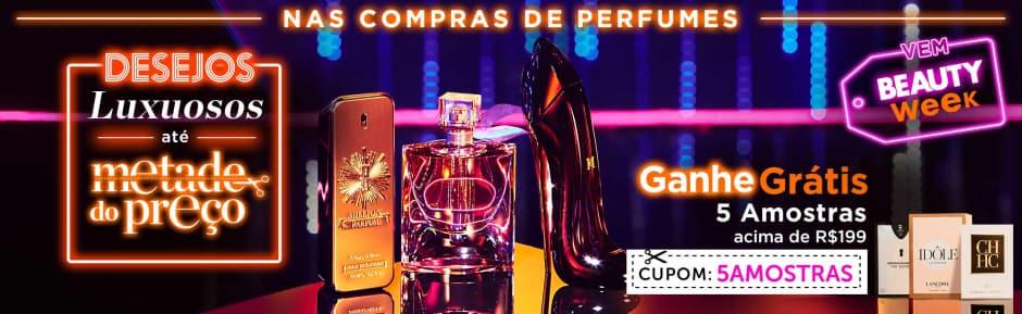 Home: Perfumes: Até 50%+ Ganhe 5 Amostras > R$199 bannerfita