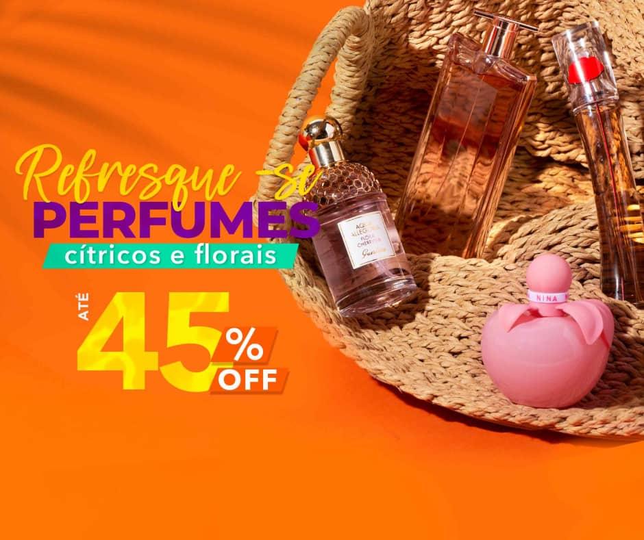Home: Perfumes: Summer Sale Refresque-se com Perfumes até 45% Off [2] bannerfita