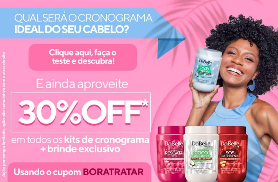 Promo Cronograma com 30% OFF + brinde