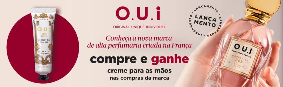 Perfumes: O.U.I Lançamento compre e ganhe creme 85559 na marca