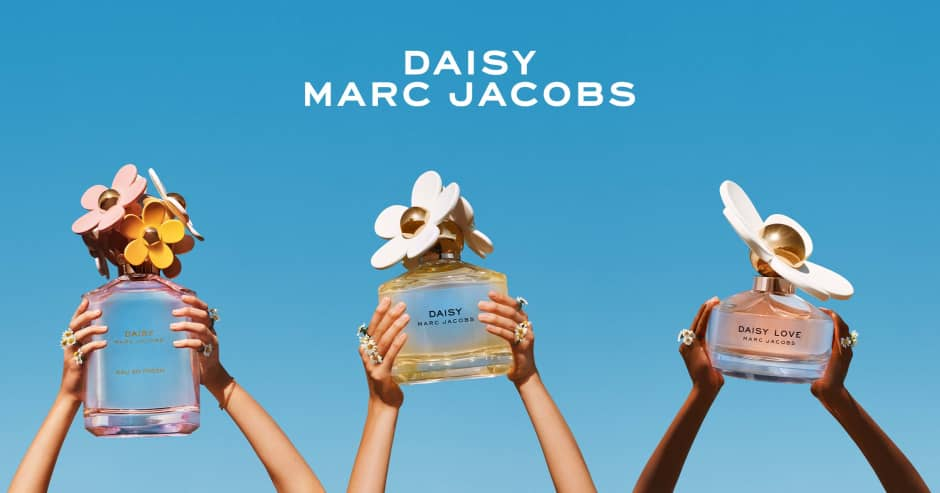 Banner Marc Jacobs - Daisy