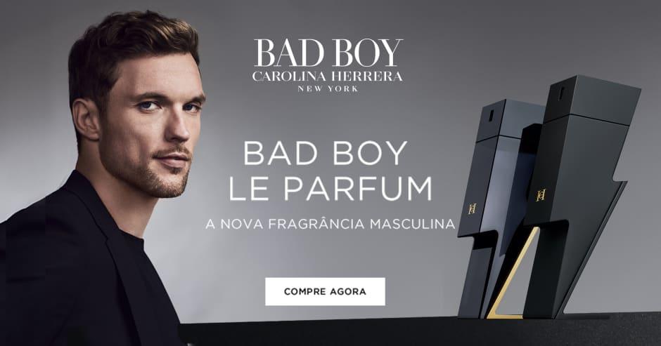 Banner Carolina Herrera - Bad Boy