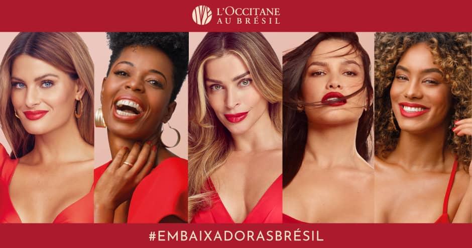 L'Occitane au Brésil Embaixadoras