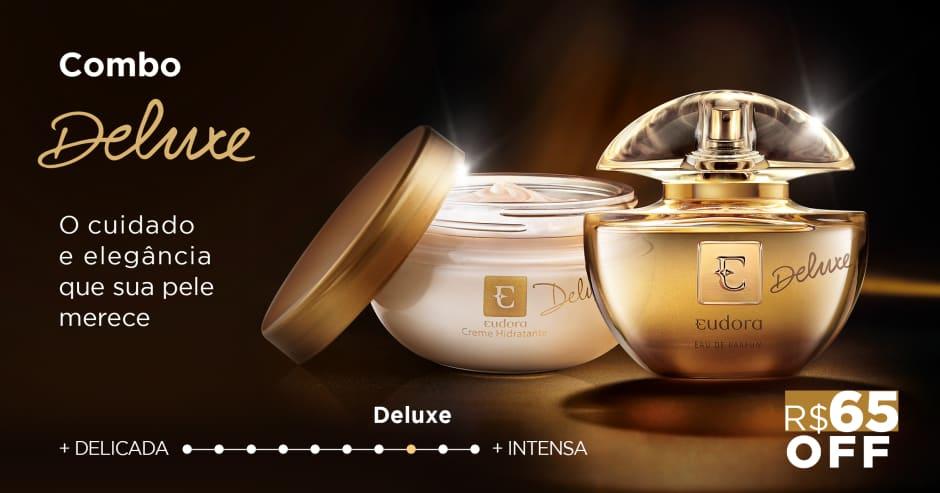 Traz todo o glamour dos clássicos ícones de luxo em sua fragrância