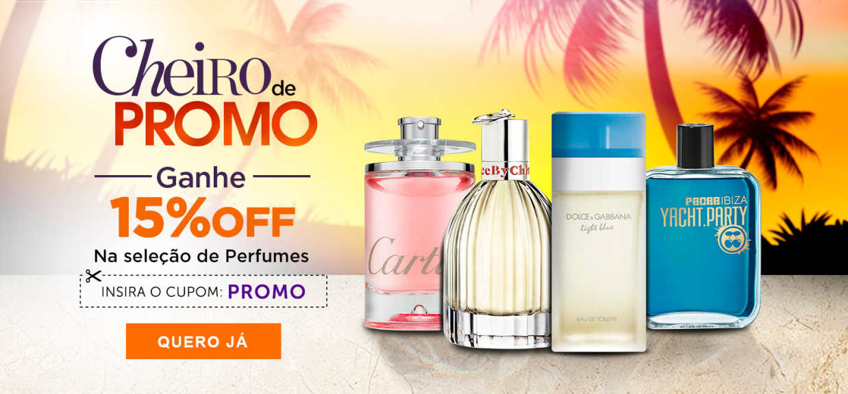 Perfumes: Cheiro de Verão