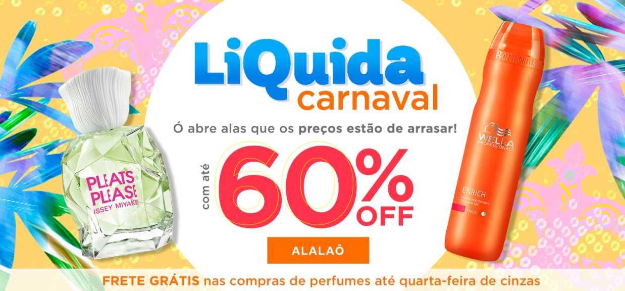 Perfumes: liquida carnaval