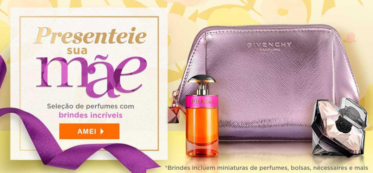 Perfumes: Presenteie sua mãe