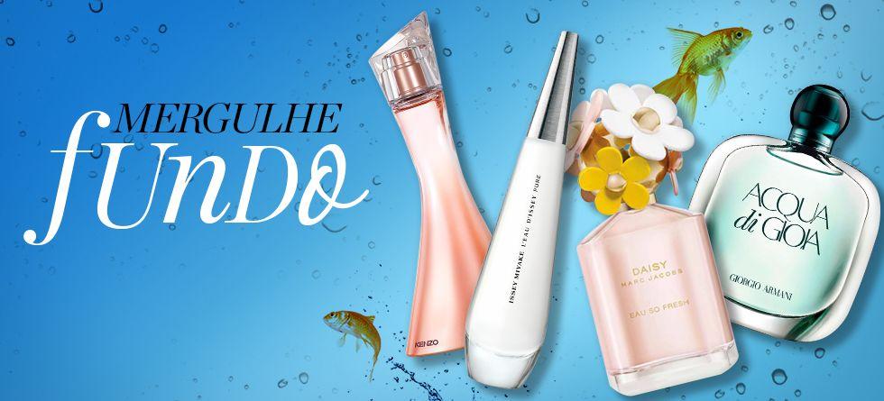 Perfumes importados aquáticos