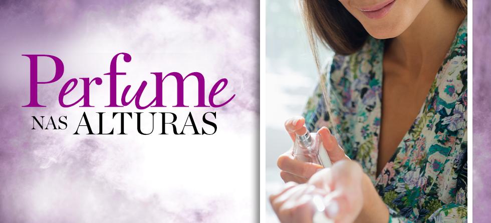 Como escolher o perfume para usar no avião