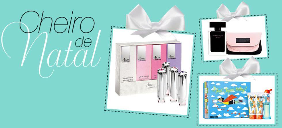 Perfumes - Kits para presente de Natal