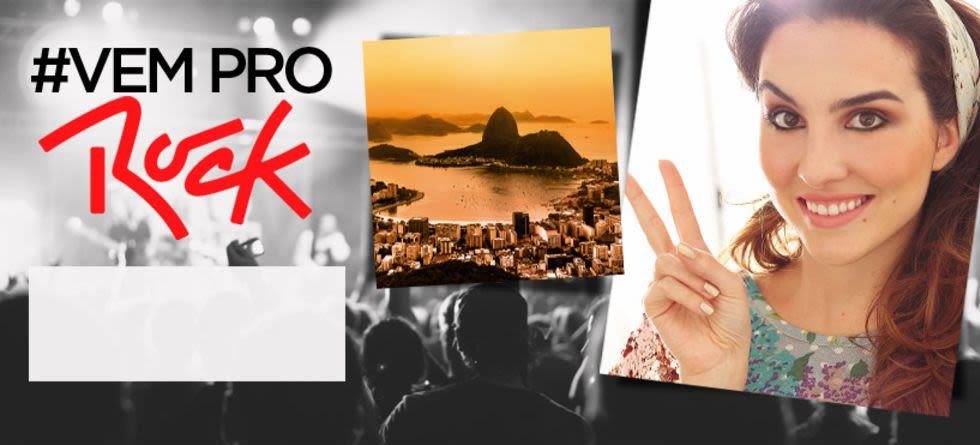 Maquiagem para o Rock in Rio