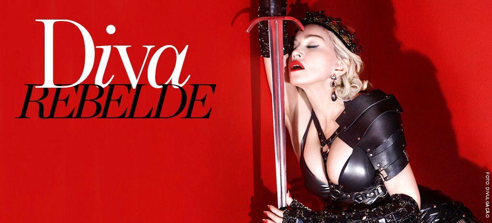 Cabelo de Madonna