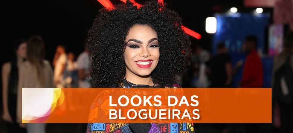 Cabelo e make das blogueiras