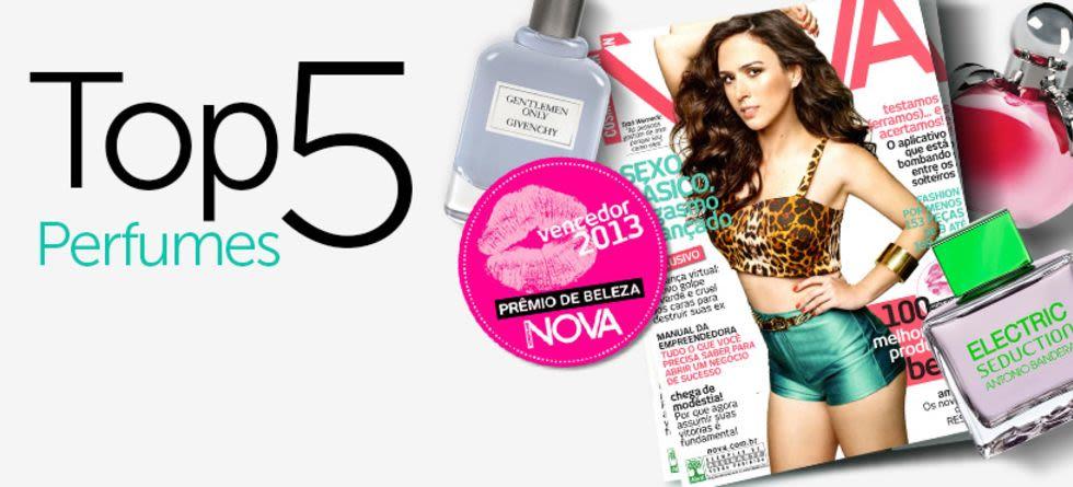 Melhores perfumes - Prêmio NOVA