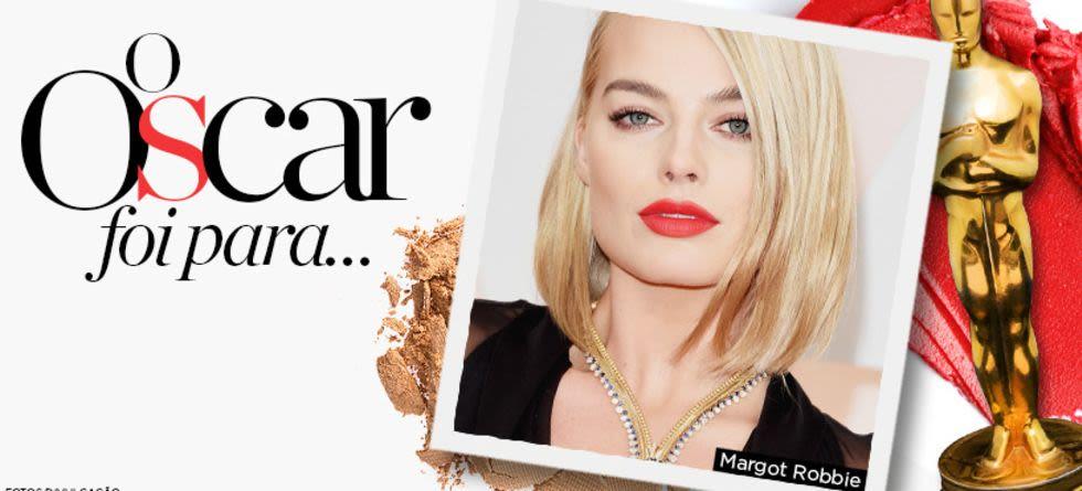 Maquiagem do tapete vermelho do Oscar