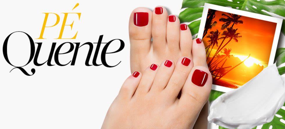 Como cuidar dos pés no verão