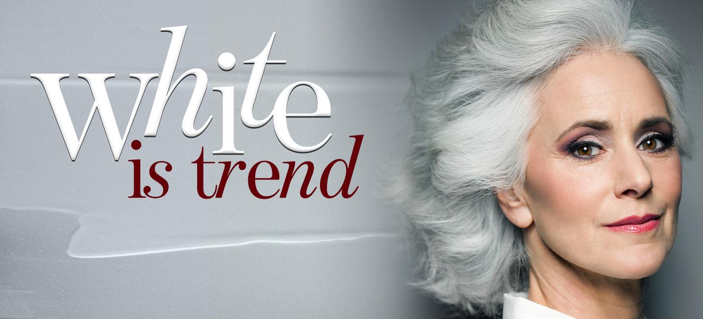 Como preservar o tom dos cabelos brancos