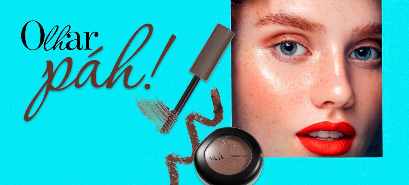 Como engrossar a sobrancelha com maquiagem