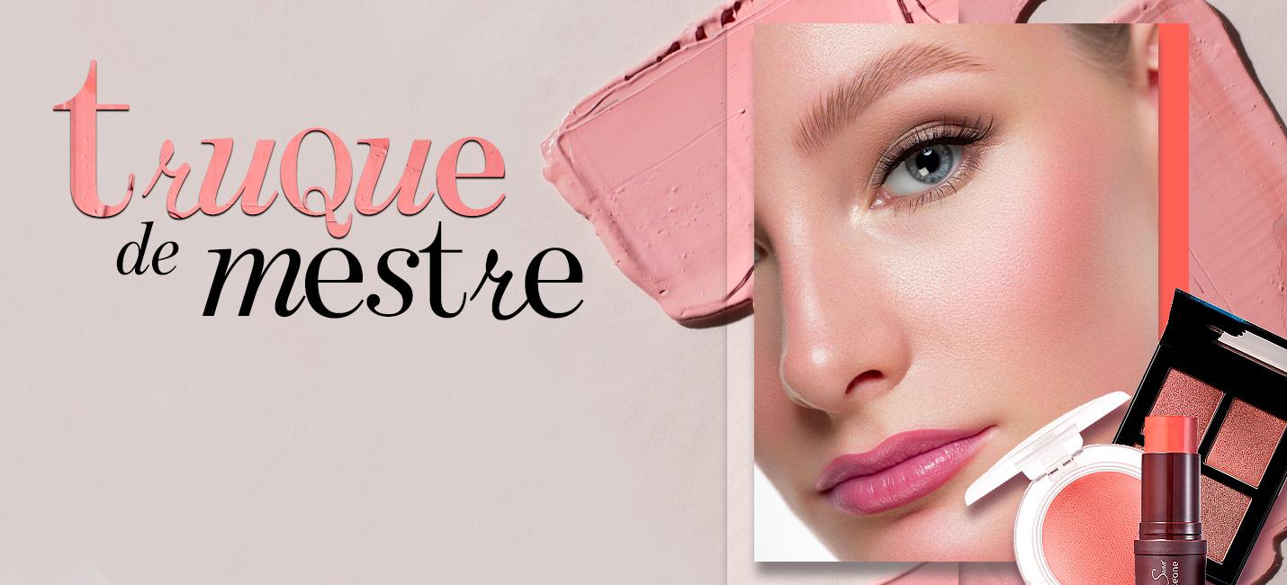 Maneiras diferentes de aplicar blush