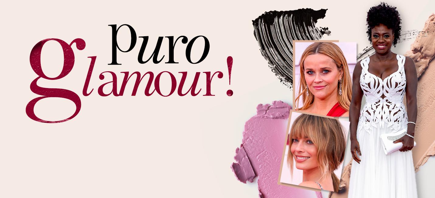 A beleza das celebridades no Oscar 2021