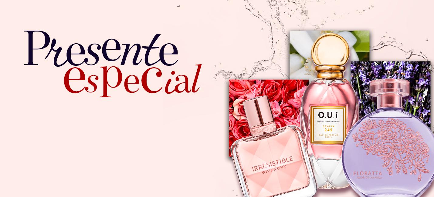 Perfume feminino para o dia das mães