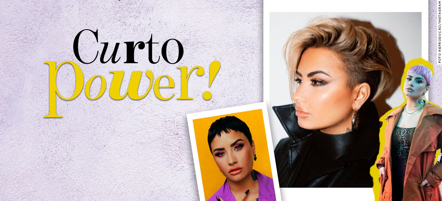 Corte pixie: 3 versões do cabelo curto de Demi Lovato