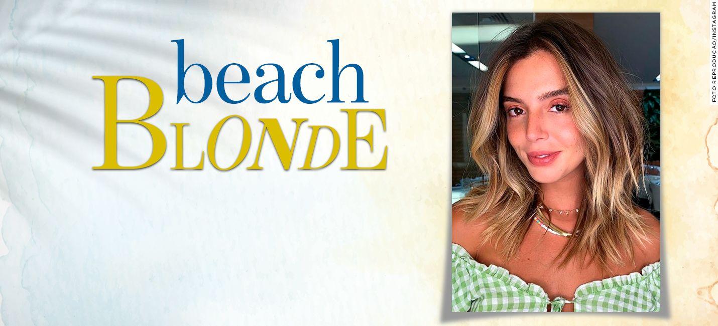 O novo loiro praiano de Giovanna Lancellotti