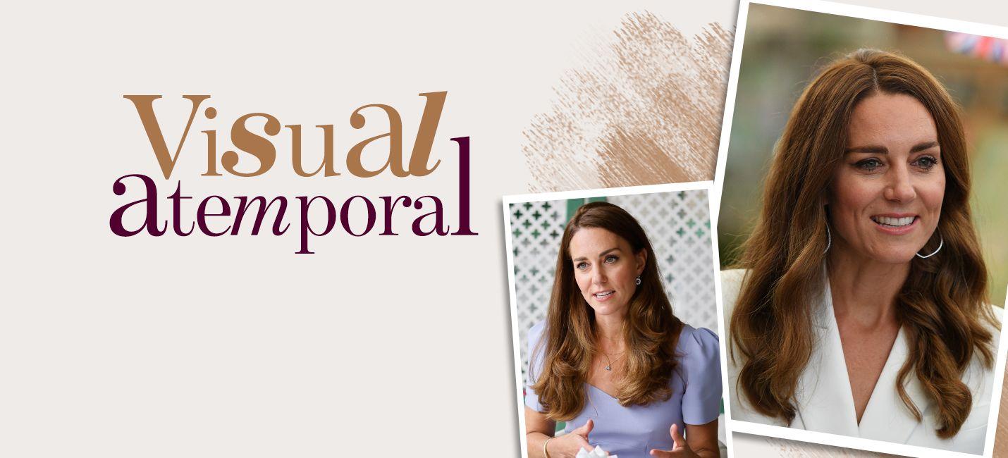 Morena iluminada canela: o tom do cabelo de Kate Middleton