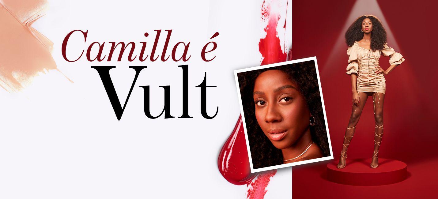 Camilla de Lucas é o novo rosto de Vult