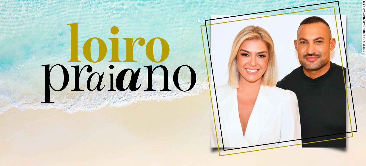 Beach blond: cabelo curto e loiro por Romeu Felipe