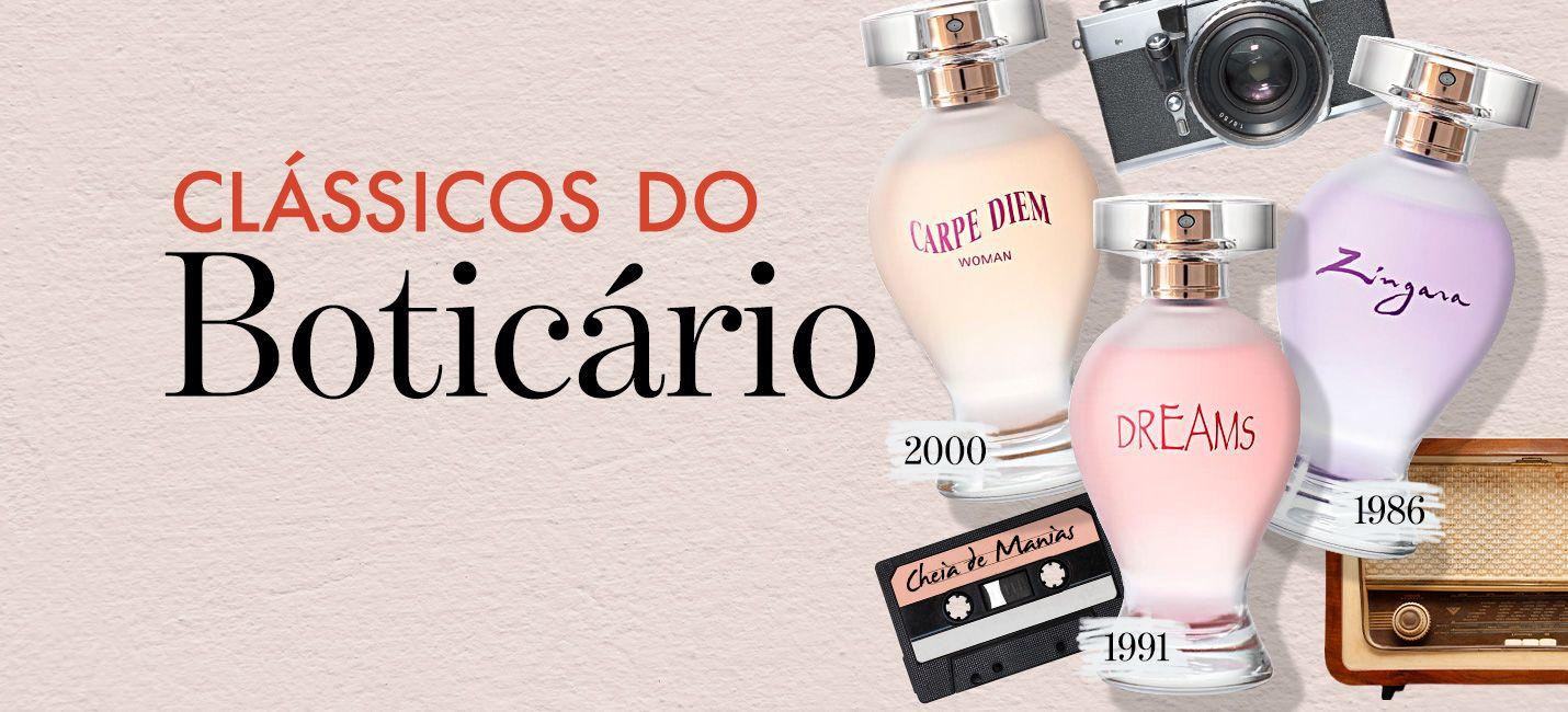 Boticollection: os perfumes clássicos de Boticário voltaram